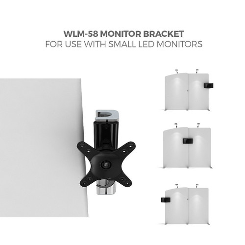 """MONITOR BRACKET, HOLDS UP TO 19"""" MONITOR (WLM-P-28 OR 29)"""
