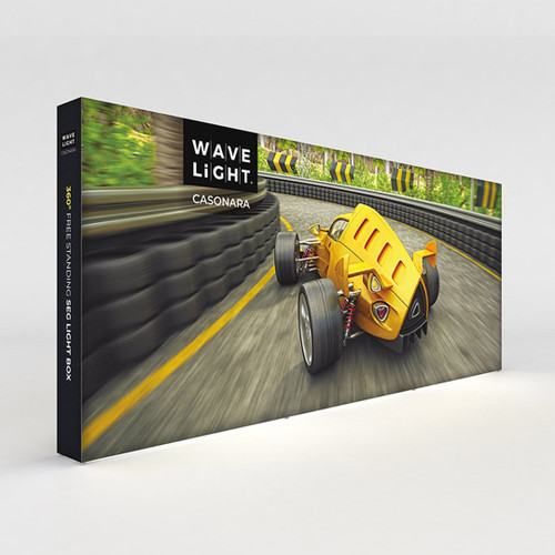 WaveLight® Casonara SEG Light Box Display - 18.5ft (CSNR-KG-73FS-K01)