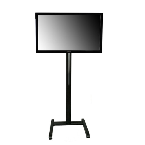"""Portable 28-43"""" Monitor Stand 60""""H Black"""