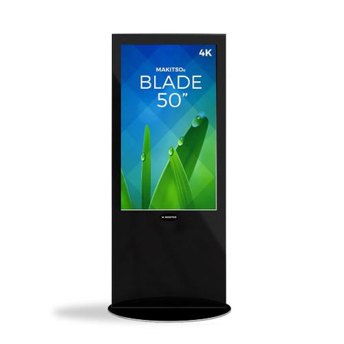 "Blade 50"" - 4K Digital Signage Kiosk - Blade Kiosk, Black, Pro Interface, Touch (BLADE-BPT50)"