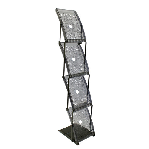 Quantum Single Sided Literature Rack (QNTM-SS)