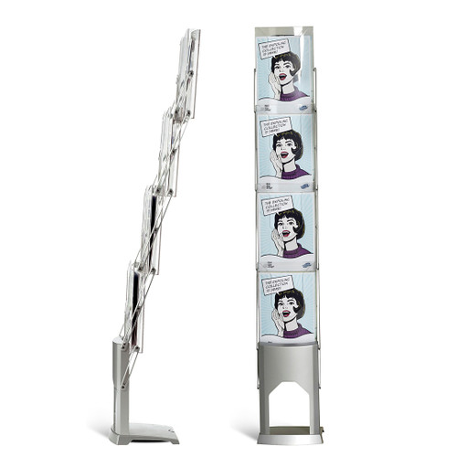 Brochure Stand Single Sided Literature Rack (4500)