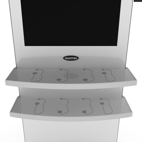 Makitso® Blade Rectangular Shelf with USB Charger