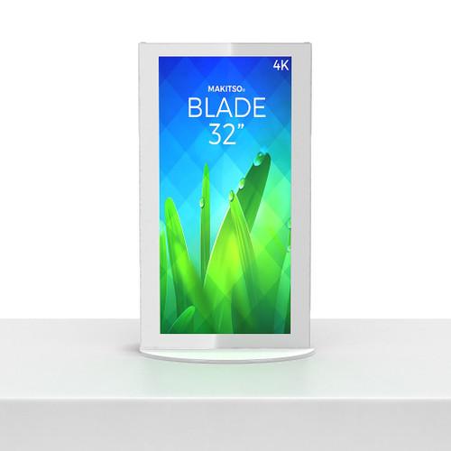 """Mini Blade - Mini Blade Kiosk, White, Touch, Intel mini PC Interface - 32"""""""