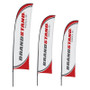 Blade Flag - 9ft Single-Sided Outdoor Flags