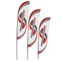 Crest Flag - 9ft Double-Sided Outdoor Flags