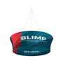 Blimp Tapered Tube Hanging Banner System closed face