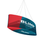 "Blimp Ellipse 12'Wx36""H Fabric Graphic Print, Single-Sided"
