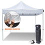 10'x10′ Curbside Pickup Tents Pop Up Canopy Tent with 4 Walls