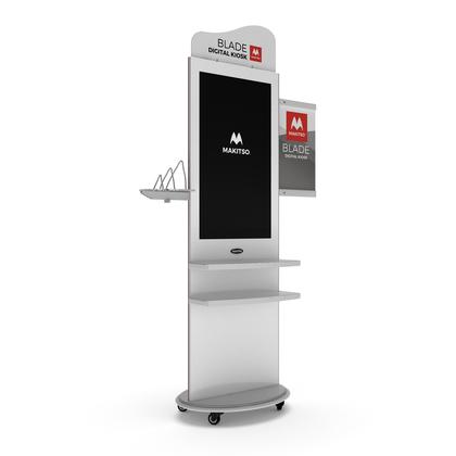 Makitso® Blade 4K Digital Kiosk Displays