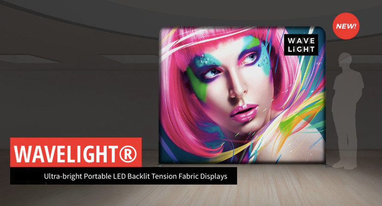 New WaveLIght® Backlit Displays by Best Tradeshow Display