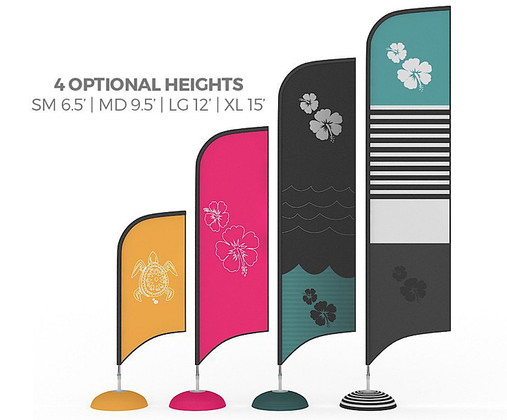 Custom Feather Flags & Banner Flags by Best Tradeshow Display