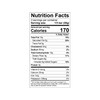 Theo Salted Almond 70% Dark Chocolate Bar Nutrition Facts