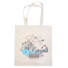 Theo Cityscape Canvas Tote Bag