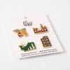 Theo 4-Pack Enamel Pins, v2