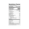 Theo Salted Almond 45% Milk Nutrition Facts