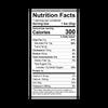 Theo Cinnamon Horchata 45% Milk Chocolate Bar Nutrition Facts