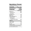 Theo Coconut 70% Dark Chocolate Nutrition Facts