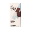 Theo Pure 45% Milk Chocolate Bar, 3 oz