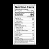 Theo Cherry Almond 70 Dark Chocolate Bar Nutrition Facts