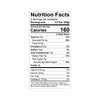 Theo Cherry Almond 70 Dark Chocolate Bar Nutrition Facts