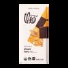 Theo Ginger 70% Dark Chocolate, 3 oz