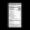 Theo Hazelnut Crunch 45% Milk Chocolate Bar Nutrition Facts