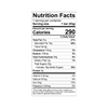 Theo Hazelnut Crunch 45% Milk Chocolate Bar Nutrition Facts