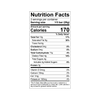 Theo Black Rice Quinoa Crunch 85% Dark Chocolate Bar Nutrition Facts