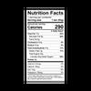 Theo Root Beer Barrel 55% Dark Chocolate Bar Nutrition Facts