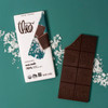 Theo Sea Salt 70% Dark Chocolate unwrapped