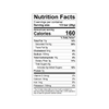 Theo Sea Salt 70% Dark Chocolate Nutrition Facts