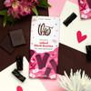 Theo Salted Black Licorice 70% Dark Chocolate unwrapped
