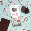 Theo Peppermint Crunch 70% Dark Chocolate with ingredients
