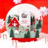 Theo Peppermint Crunch 70% Dark Chocolate in Snowglobe
