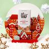 Theo Chocolate Gingerbread Spice 45% Milk Chocolate Bar in Snowglobe