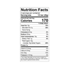 Theo Chocolate Gingerbread Spice 45% Milk Chocolate Bar Nutrition Facts