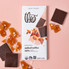 Theo Salted Toffee 55% Dark Chocolate Unwrapped