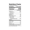 Theo Pure 70% Dark Chocolate Bar Nutrition Facts