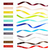 Available ribbon colors: Burgundy, petal peach, lemon, chartreuse, seafoam, royal blue, turquoise, grey/pewter, antique white, Theo logo brown, Theo logo red