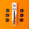 Theo Dark Chocolate Salted Vanilla Caramels Out of Package