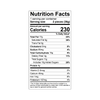 Theo Dark Chocolate Almond Butter Cups Nutrition Facts