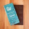 Theo All In Washington Partnership Bar 70% Dark Chocolate - unwrapped bar