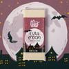 Theo Full Moon White Chocolate 1oz Bar on Night Sky Background