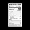 Theo Coffee Toffee 70% Dark Chocolate Bar Nutrition Facts