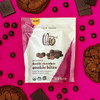 Double Chocolate Cookie bites in package with cookies and chocolate bars