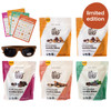 Love at First Bite Volume 3: Summer of Cookie Bites box, featuring four Cookie Bite flavors, sunglases and a Road Trip Bingo set