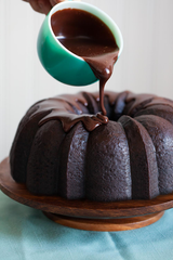 Dark Chocolate Stout Bundt Cake