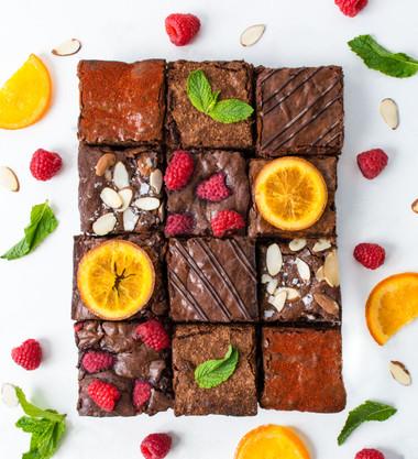 Theo Chocolate Chunk Brownies