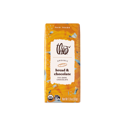 Theo Bread & Chocolate 70% Dark Chocolate Bar